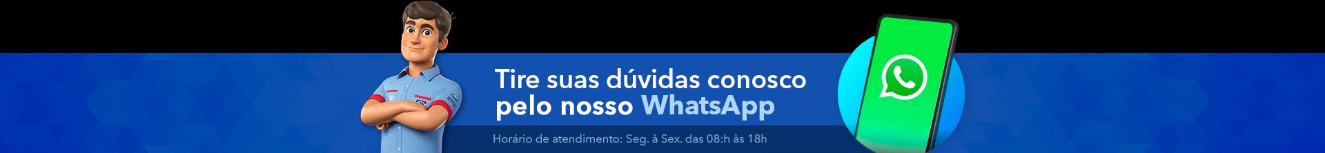 Clube da Casa - Entre em contato conosco pelo Whatsapp