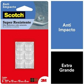 Anti Impacto Piramidal Protetor Móveis Utensílios 3m Scotch