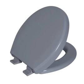 Assento Sanitário Soft Close Oval Cinza 2 Astra
