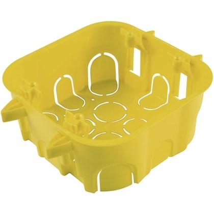 CAIXA LUZ 4X4 PLAST AMARELA DRAYWALL TRAMONTINA
