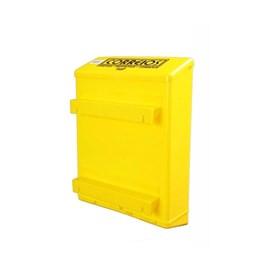 Caixa para Cartas Correios Amarela Parede Goma