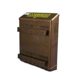 Caixa para Cartas Correios PVC Bronze para Parede Goma