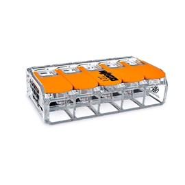 Conector de Emenda 5 Polos 0,5 a 6 mm Linha 221 Wago
