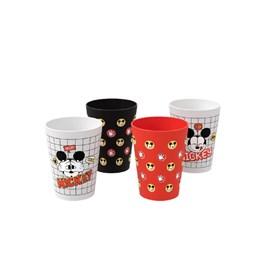 Conjunto de 4 Copos de 300ml Cozy Disney Mickey e Coza