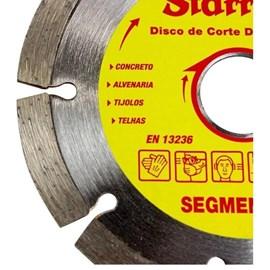 Disco De Corte Segmentado Diamantado Starrett - Dds110