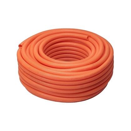 ELETRODUTO CORRUGADO PVC FLEXÍVEL LARANJA 25MM 1M