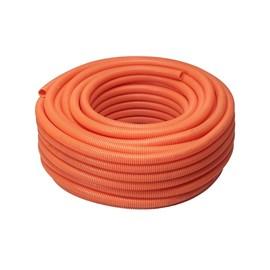 ELETRODUTO CORRUGADO PVC FLEXÍVEL LARANJA 32MM 1M