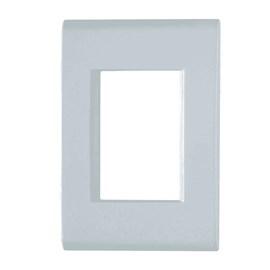 Espelho Placa Liz 2 x 4 Branca 3 Módulos Tramontina