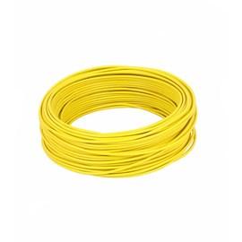 Fio Cabo Flexível 2,5 mm Amarelo Rolo com 100 Metros Lamesa