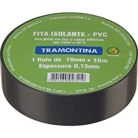 FITA ISOLANTE PRETA 0,13MMX19MM 10M