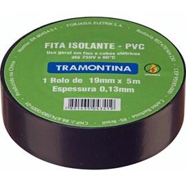 FITA ISOLANTE PRETA 0,13MMX19MM 20M