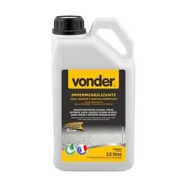 Impermeabilizante de Água umidade e manchas 3,6Litros Vonder