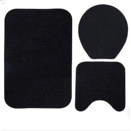 Kit de Tapetes para Banheiro - 3 peças
