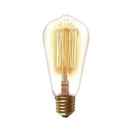 Lâmpada Filamento de Carbono Dimerizável 40W 127V Taschibra