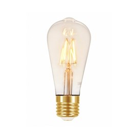 Lâmpada Filamento LED Vintage ST64 4 W Autovolt Taschibra