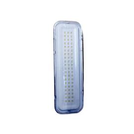 Luminária de Emergência LED 60 LEDs Branco Frio Bivolt Elgin