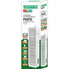 Luminária Emergência Pratic TLE 06 30 LEDS Bivolt Taschibra