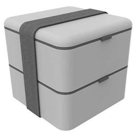 MARMITA BOX COM 2 DIVISÓRIAS 1,5L SOPRANO