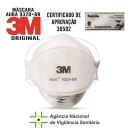 Máscara de Proteção Aura 9320+BR 3M Respirador PFF2