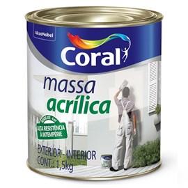 MASSA ACRILICA 1,5KG CORAL