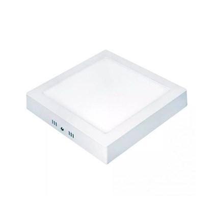 Painel LED Sobrepor Quadrado 6 W Lux 3000 K Taschibra