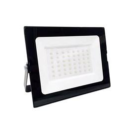 Projetor de LED 50W Luz Branca Fria 6500K Preto Elgin