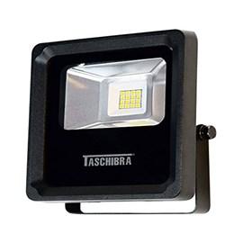 Refletor LED 10W Slim Preto Luz Verde Taschibra Brasilux