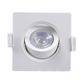 Spot LED Embutir Alltop MR16 Quadrado 5 W 3000 K Taschibra