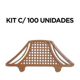 Tela Passarinheira Plástica Colonial Paulista com 100 Peças
