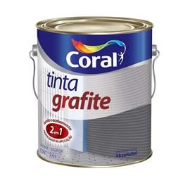 TINTA GRAFITE CINZA CLARO 3,6LT
